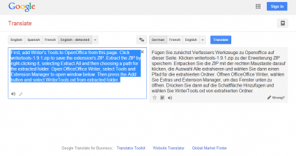 Google translate3