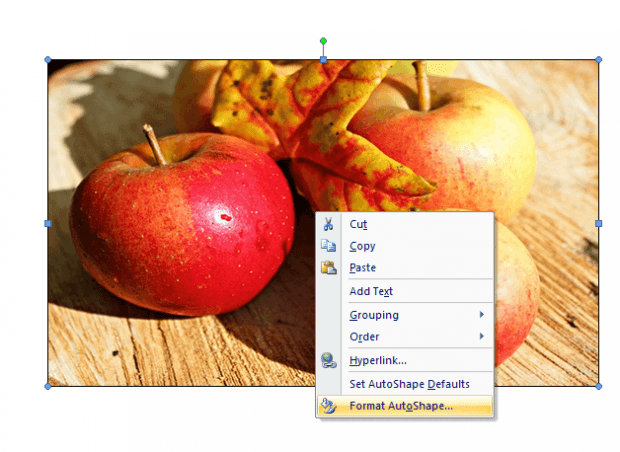 adjust image transparency in Word c