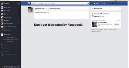 block or hide Facebook News Feed Chrome