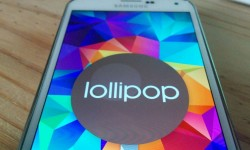 Galaxy S5 with Lollipop