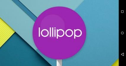 Lollipop screenshot