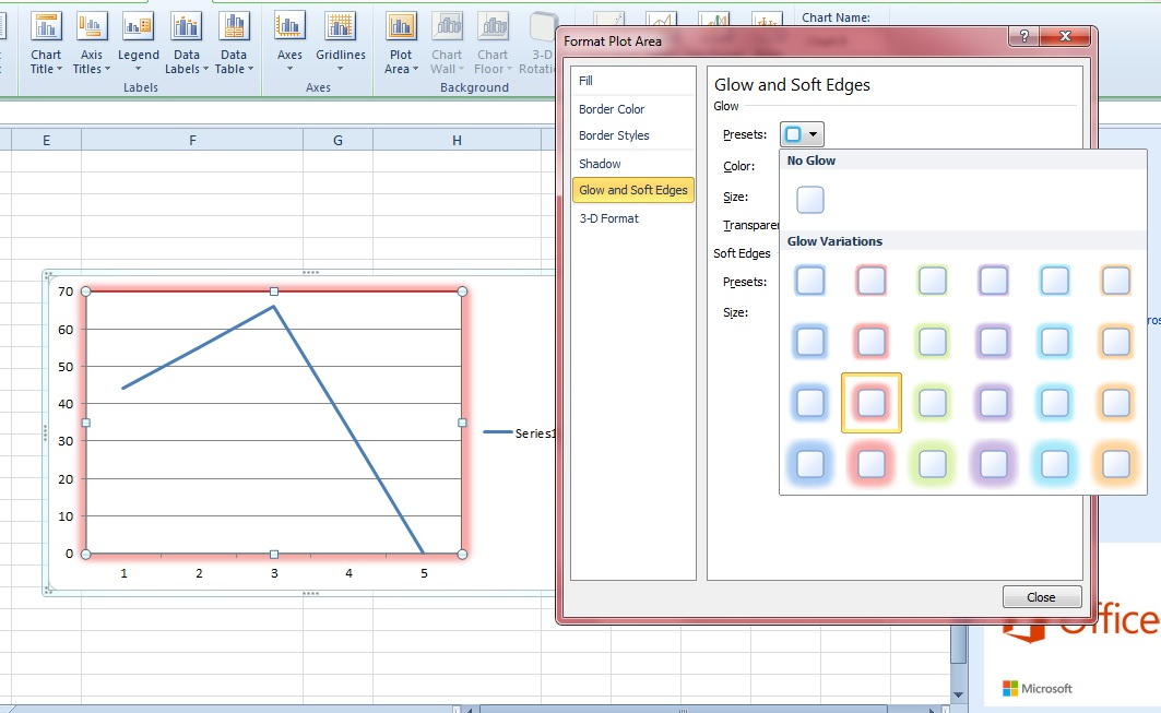 How To Format The Plot Area Of A Graph Or Chart In Excel Tip Dottech