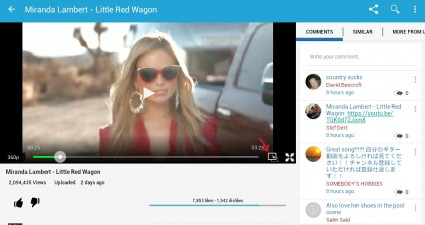watch YouTube in a floating window Android