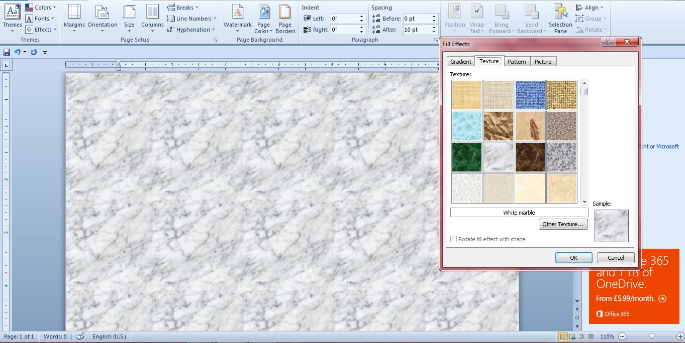 Background image in word - Word Background Colors5