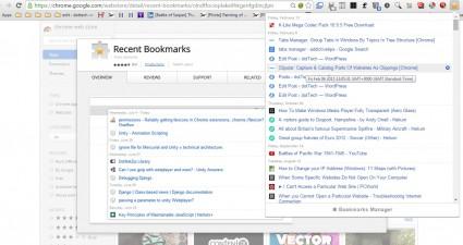 Recent bookmarks3