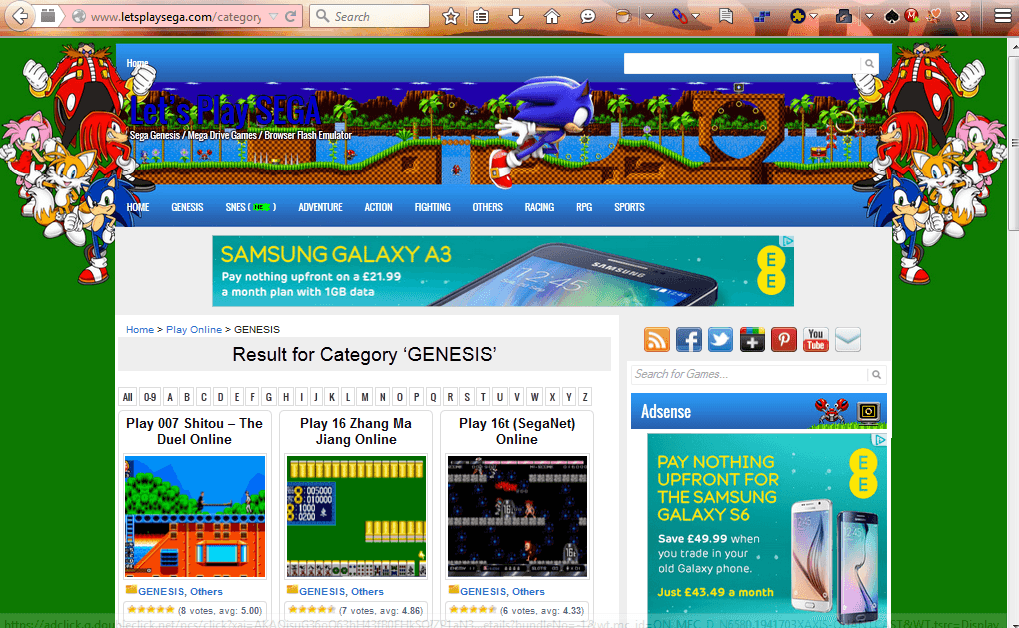 How to play retro SEGA console games in Firefox, Chrome and