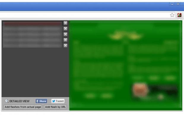 add flash files to playlist Chrome b