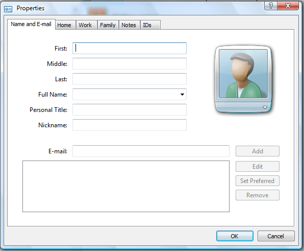 contacts folder2