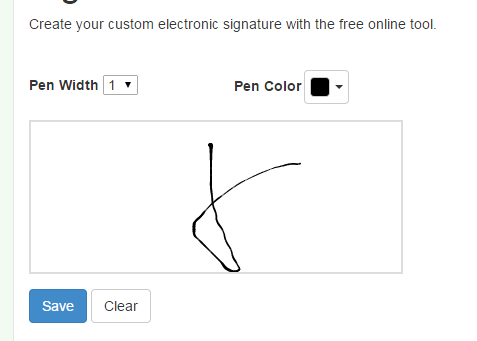 how to make signature online - Khafre