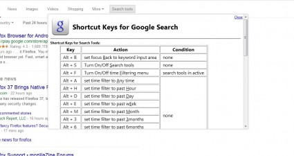 google hotkeys2