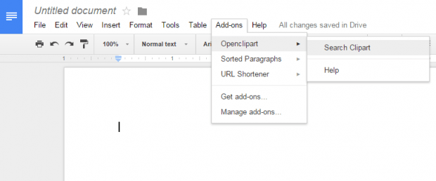 How To Insert Clipart Images In Google Docs Tip DotTech - How to edit google docs