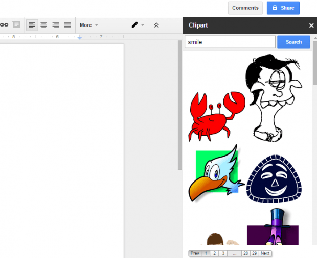 How To Insert Clipart Images In Google Docs [Tip