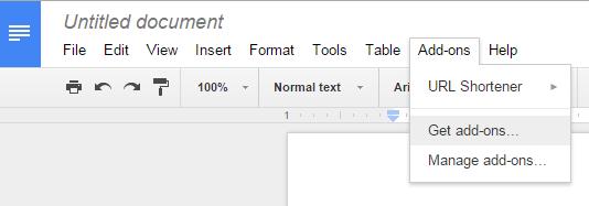 sort lists in Google Docs