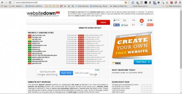 websitedown