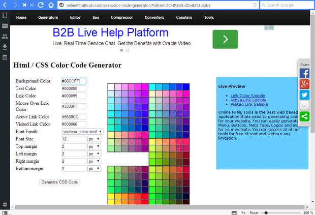 CSS code2