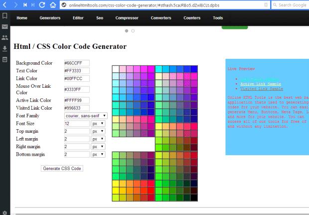 CSS code4