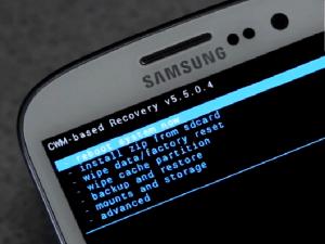 CWM recovery on Galaxy