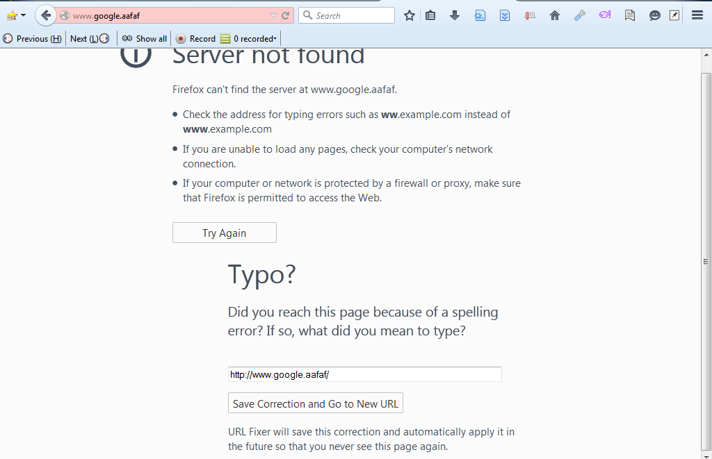 How to quickly fix URL typos in Firefox [Tip] | dotTech