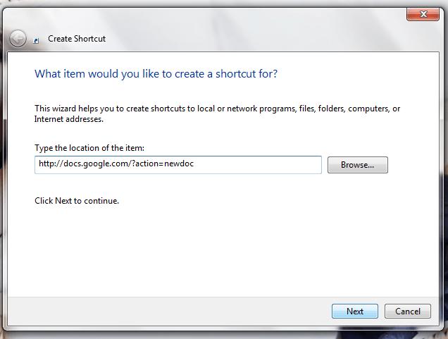 how to put google shortcut on desktop