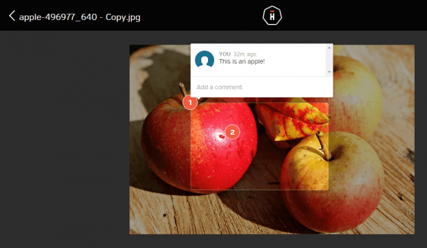 add contextual comments to shared files online b