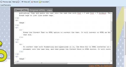 convert to HTML4