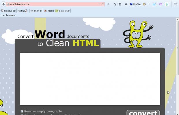 convert to HTML5