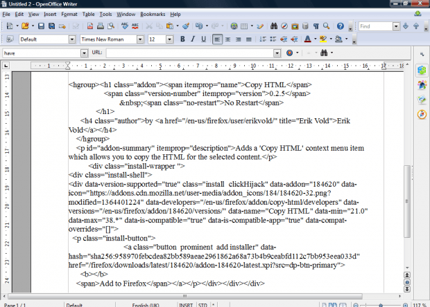 copy HTML3