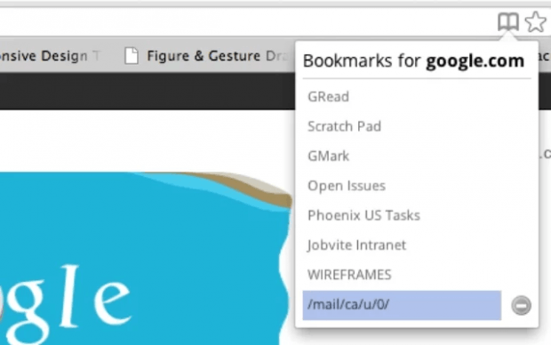 find my bookmarks Chrome b