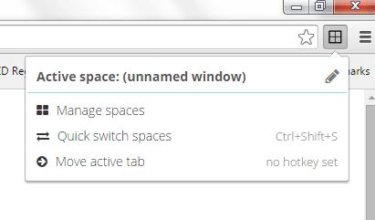 manage windows as a workspace Chrome b