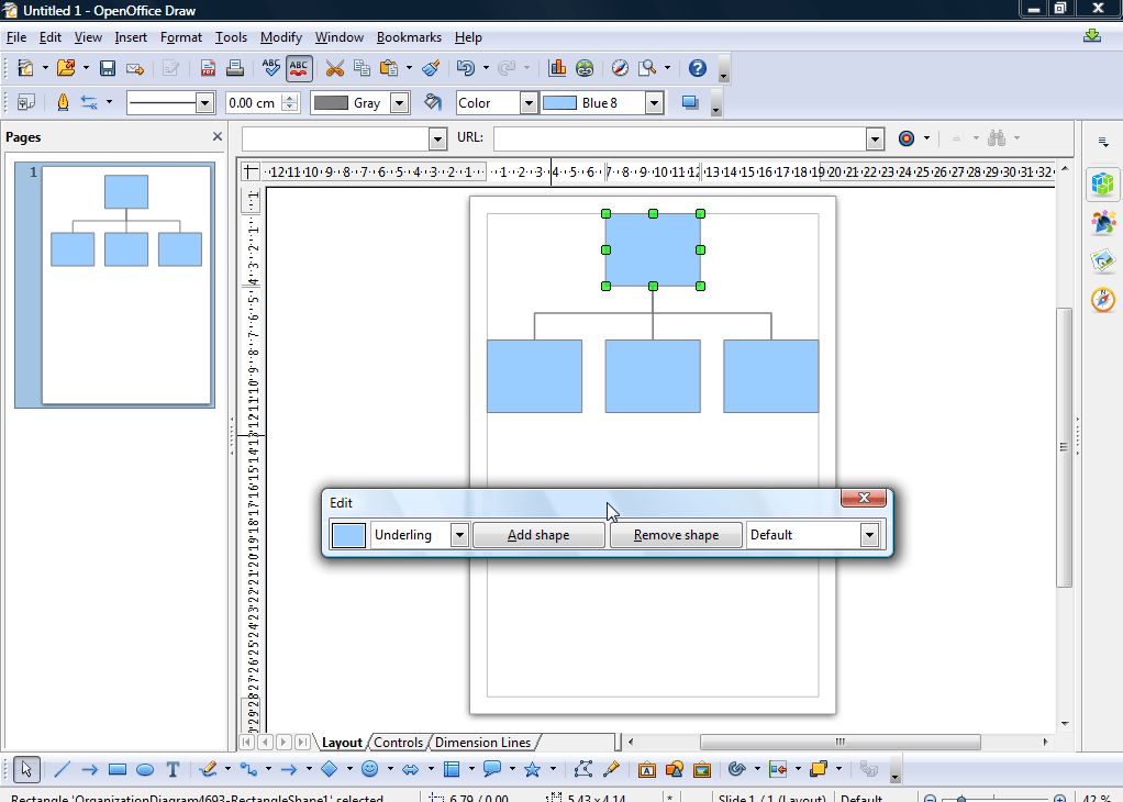 How To Quickly Set Up Diagrams In Openoffice Draw Tip Dottech