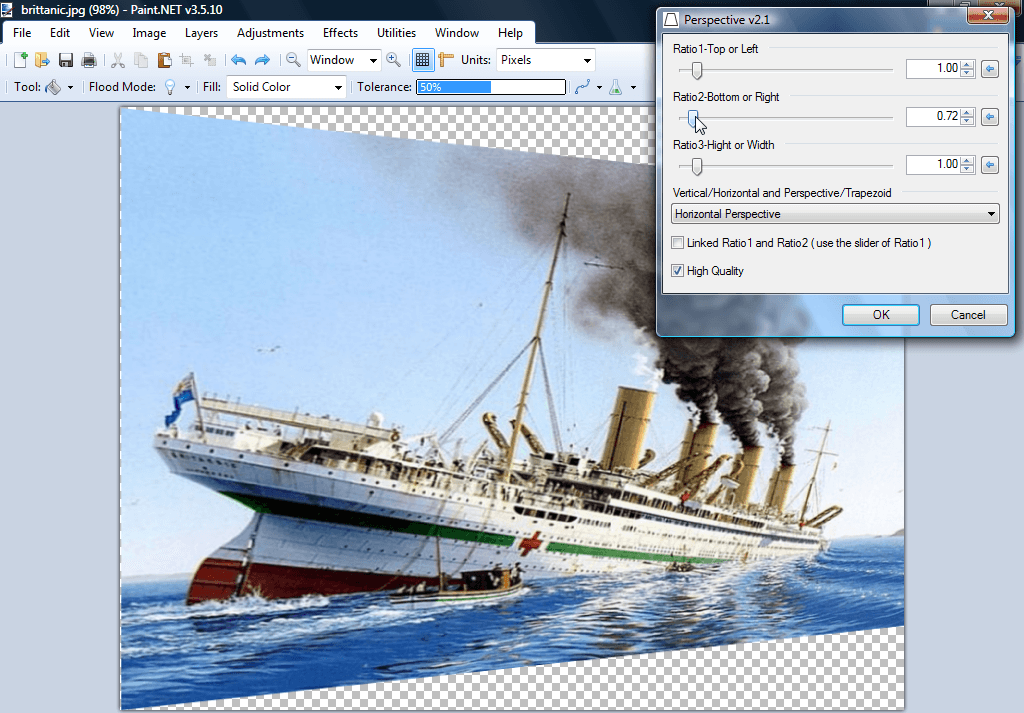 How To Skew Image In Paint Net