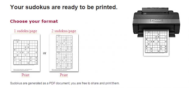 print free Sudoku puzzles online b