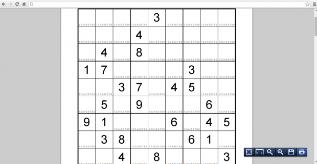 print free Sudoku puzzles online c