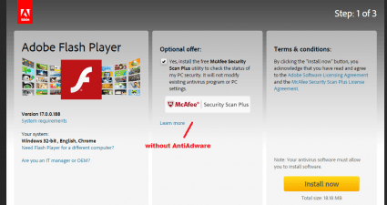 remove Adware from software downloads