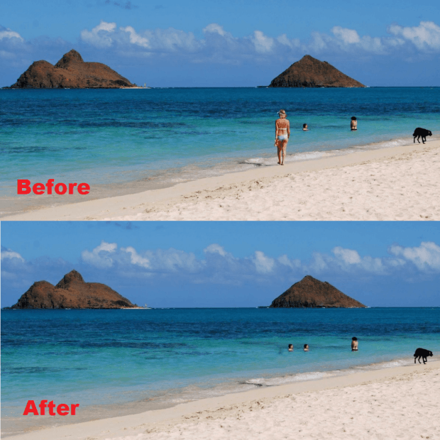 remove unwanted elements from photos online c