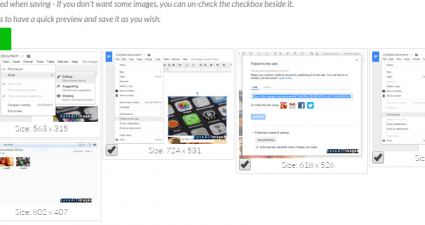 save all images from a web page online b