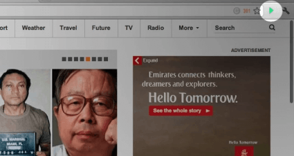 tab slideshow Chrome