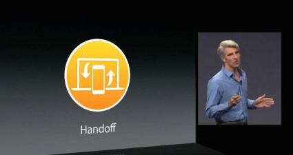Apple continuity handoff