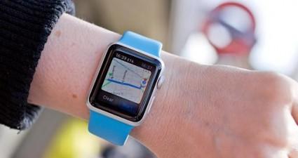Apple Watch maps