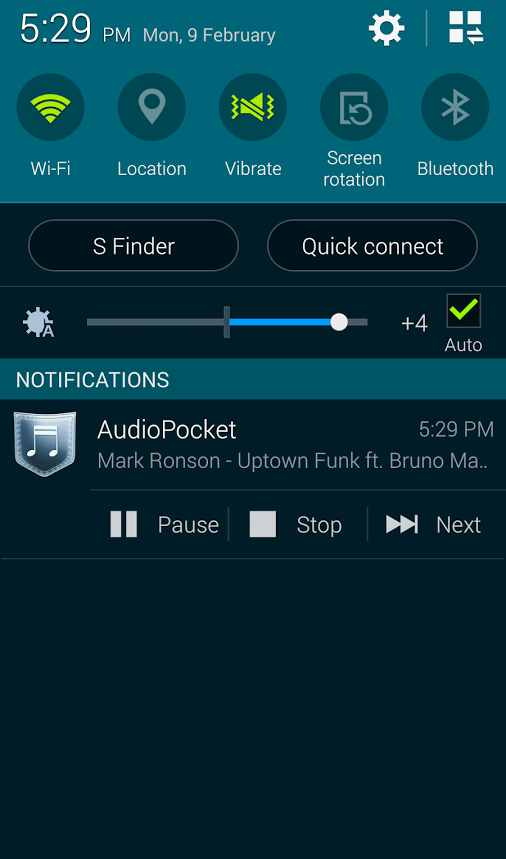 AudioPocket for Android