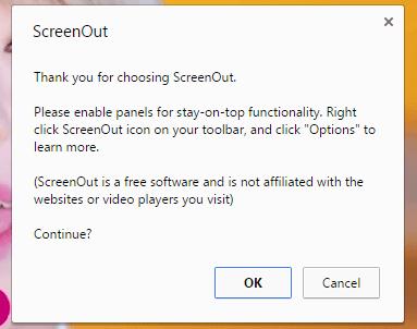 ScreenOut Chrome