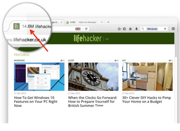 Tab Memory Usage Firefox