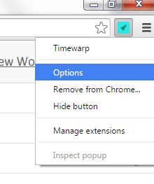Timewarp Chrome