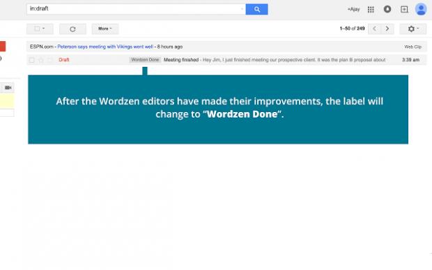 Wordzen done