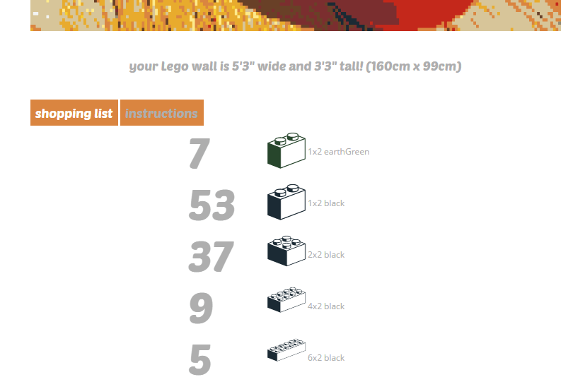 How to convert any image into a lego mural online tip dottech convert image into a lego mural online c malvernweather Image collections