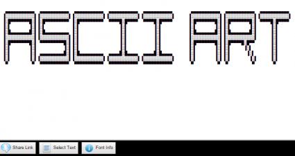 convert text to ASCII art online c