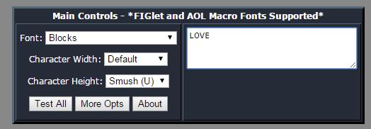 convert text to ASCII art online