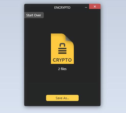 encrypt files you send in Windows c