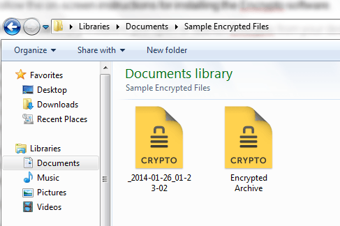 encrypt files you send in Windows d