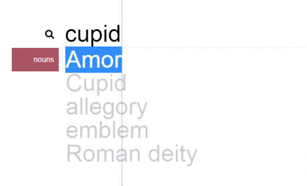 find word synonym by length